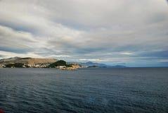 Otocic Grebeni island in Dubrovnik Croatia Royalty Free Stock Image