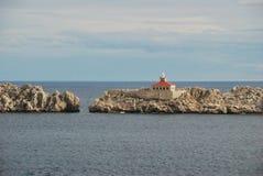 Otocic Grebeni wyspa w Dubrovnik Chorwacja fotografia royalty free