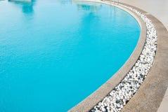 otoczaków basenu dopłynięcia biel Obrazy Royalty Free