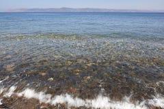 otoczak jasna woda morska Obrazy Royalty Free