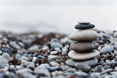 Otoczak na plaży Zdjęcia Stock