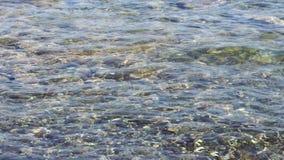 Otoczak plaża z dennymi fala zbiory