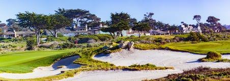 Otoczak plaży golf zdjęcie stock
