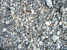 Otoczak plaży szczegóły Fotografia Stock