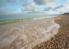 Otoczak plaża Fotografia Royalty Free