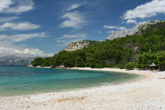 Otoczak plaża Obraz Stock