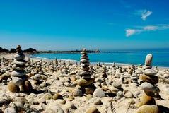 Otoczak plaża Fotografia Stock