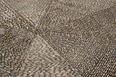 Otoczaka bruk, Hiszpania zdjęcie stock