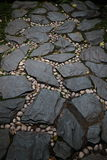 Otoczaka i kamienia droga Obrazy Royalty Free