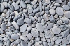 Otoczaka Plażowy tło Obrazy Stock