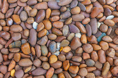 Otoczaka tła kamienna tekstura Zdjęcie Stock