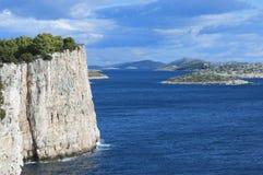 otok för croatia dugiö Royaltyfria Foton