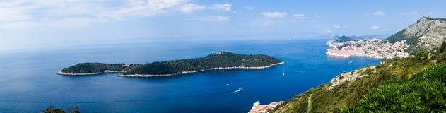 Otok Lokrum Dalmatia royalty free stock photos