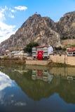 Otomanów domy w Amasya Obraz Royalty Free