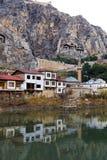 Otomanów domy w Amasya Fotografia Royalty Free