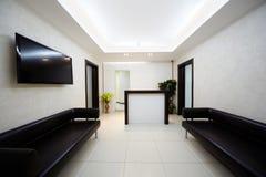 otoman korytarza skóry salon Obraz Stock