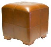 Otomano del cubo Fotografía de archivo