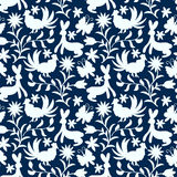 Otomi Style Pattern Royalty Free Stock Images