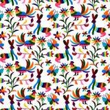 Otomi Style Pattern Royalty Free Stock Photography