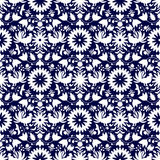 Otomi Style Seamless Pattern Royalty Free Stock Images