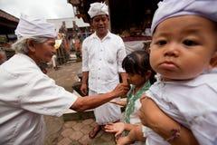 Oton ceremony on Bali island Stock Photography