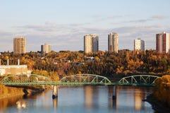 Otoño Edmonton Imagenes de archivo