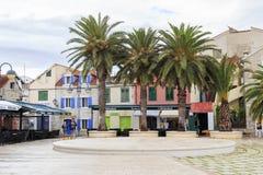 Otoño en Dalmacia, Croacia Foto de archivo libre de regalías