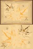 Otoño frame&pattern Fotos de archivo