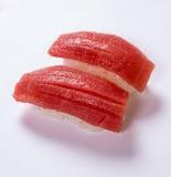 Otoro (fettiga Tuna Belly) sushi Royaltyfri Foto