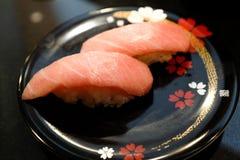 Otoro (la viande la plus grasse du thon) image libre de droits