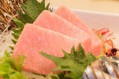 Otoro sashimi (Maguro) Stock Photos