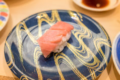 Otoro Sushi [Fatty of tuna, Maguro] Royalty Free Stock Photography