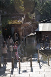 Otowa nenhum taki, Kiyomizu-dera Imagens de Stock
