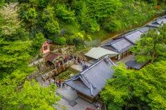 Otowa Waterfall in Kiyomizudera Stock Images