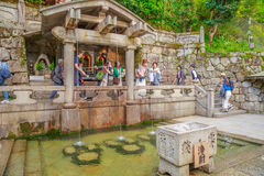 Otowa Waterfall Kyoto Stock Images