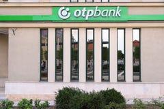 OTP银行在匈牙利 库存图片