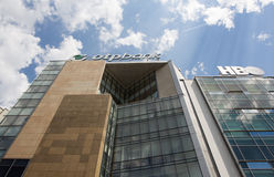 OTP Bank headquarters in Bucharest Royalty Free Stock Photos