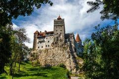 Otręby kasztel Dracula w Rumuńskim zdjęcia stock