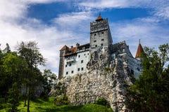 Otręby kasztel Dracula w Rumuńskim fotografia stock
