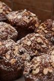 Otrębiaści muffins Fotografia Royalty Free