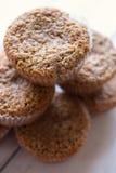 Otrębiaści muffins obrazy royalty free