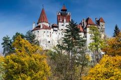 Otrębiasty średniowieczny Kasztel, Transylvania, Rumunia obraz royalty free