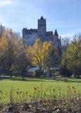 otrębiasty castel kasztelu Dracula Romania transilvania obraz royalty free