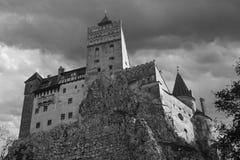 otrębiasty castel kasztelu Dracula Romania transilvania zdjęcie stock
