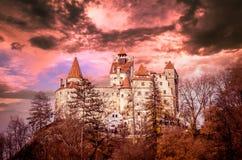 otręby grodowy Romania Transylvania zdjęcie royalty free