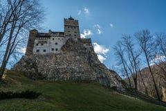 Otręby kasztel, Brasov okręg administracyjny, Rumunia Fotografia Royalty Free