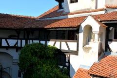Otręby kasztel, dom Dracula, Brasov, Transylvania obraz royalty free