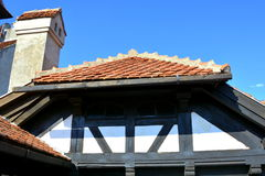 Otręby kasztel, dom Dracula, Brasov, Transylvania fotografia stock