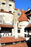 Otręby kasztel, dom Dracula, Brasov, Transylvania zdjęcia royalty free