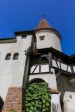 Otręby kasztel - Dracula s kasztelu szczegóły fotografia stock